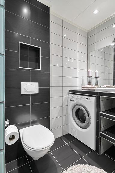 2etg - Bad renovert i 2012, opplegg for vaskemaskin