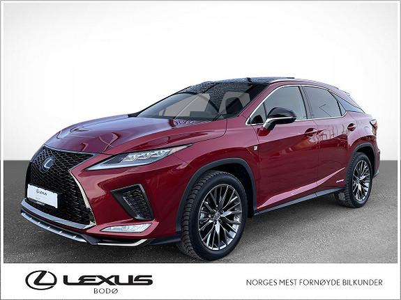Lexus RX450h F Sport S   Hybrid   Topputgave ++  2021, 3000 km, kr 999000,-