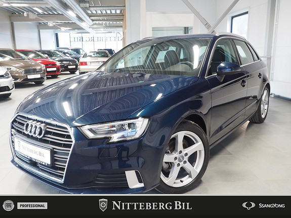 Audi A3 Sportback Sport 35 1,5 TFSI COD 150hk aut, Business  2019, 48000 km, kr 309000,-