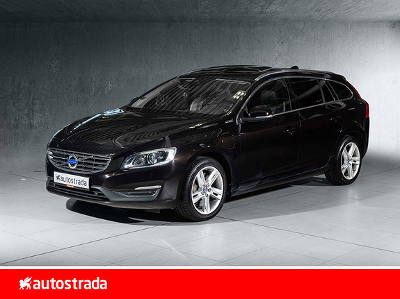 Volvo V60 D6 Summum R-Design Twin Engine Driver sup- Harman lyd++  2016, 117 000 km, kr 269 000,-