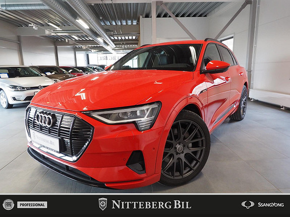 Audi e-tron 55 Sport - Bang Olufsen - Sort taktrekk - Adaptive Cru  2020, 13000 km, kr 739000,-