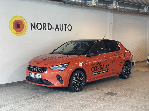 Opel Corsa Elegance/330KM/Skinn/Ryggekam/Rattvarme/MatrixLed/  2020, 8800 km, kr 279900,-