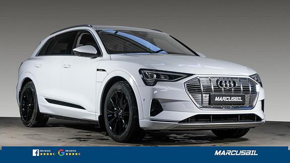 Audi e-tron 55 MATRIX/ACC/H.FESTE/VINTERPAKKE/S+ V  2020, 450 km, kr 729000,-