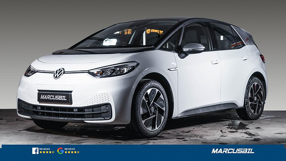Volkswagen ID.3 1ST PRO PERFORMANCE ACC/VINTERPAKKE/VARMEPUMPE/S+ V  2021, 1250 km, kr 345000,-