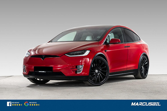 Tesla Model X 90D AP2/VINTER/HIFI/H.FESTE  2017, 86800 km, kr 569900,-