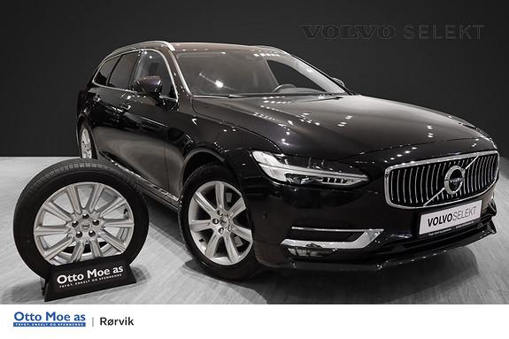 Volvo V90 D4 190hk Inscription AWD aut VOC, Navigasjonspakke  2017, 56463 km, kr 499900,-