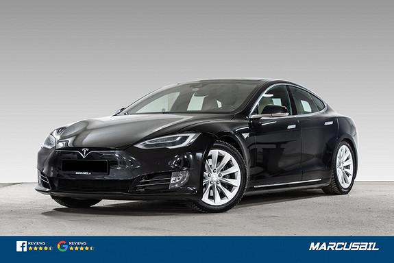 Tesla Model S 90D AP/LUFT/SOLTAK/VINTER/HEPA/GRATIS LADING  2016, 112200 km, kr 429900,-