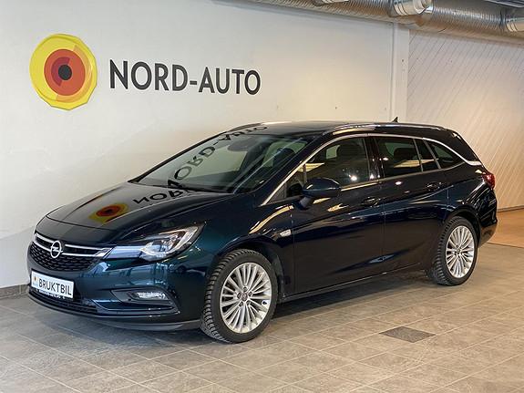 Opel Astra 1.4  SPORTSTOURER/150HK/AUT/LED/KROK/SKINN/NAVI/SOLTAK  2016, 73300 km, kr 199900,-
