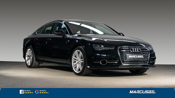 Audi A7 3 TDI 211HK/BOSE/HEADUP/NIGHT.V/LUFT/S-LINE/S+ V/NORSK  2015, 68000 km, kr 459999,-