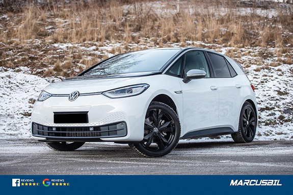 Volkswagen ID.3 1ST PLUS MATRIX/RYGGEKAMERA/S+ V/GRATIS LADING  2021, 100 km, kr 369000,-