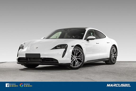 "Porsche Taycan PERFORMANCE 4+1/ACC/PANO/KAMERA/20"" TURBO AERO  2021, 850 km, kr 899000,-"