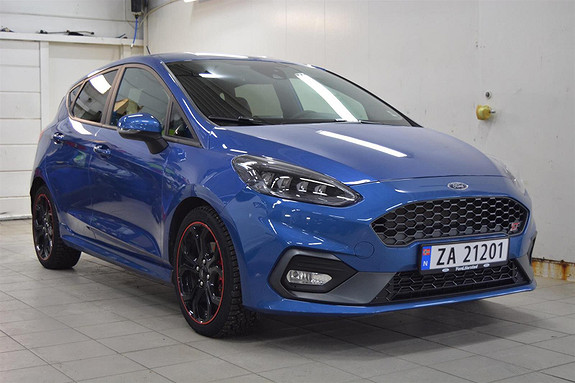 Ford Fiesta 1.5  ST Norsk bil  2019, 11500 km, kr 299000,-