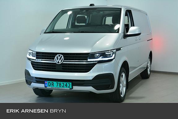Volkswagen Transporter Tra kort 150 tdi 4m/dsg Ryggekamera, Ledlys, parkvarmer  2020, 24500 km, kr 499900,-