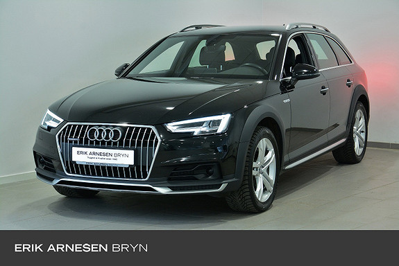 Audi A4 allroad 2.0 TDI 190hk quattro aut ACC, Krok, Webasto, Navi,  2018, 103200 km, kr 379900,-