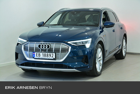 Audi e-tron 55 Advanced Plus Krok, Panorama, Sportsseter  2020, 26990 km, kr 709900,-