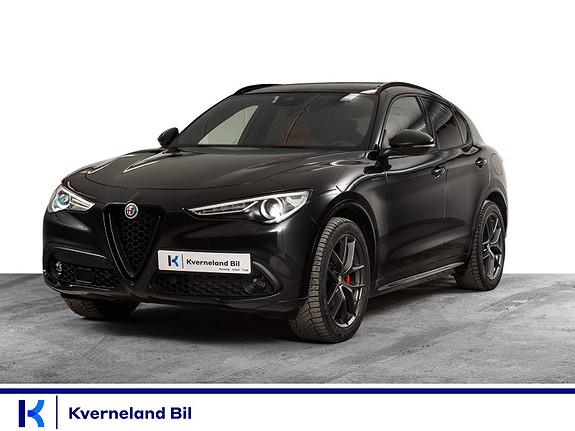 Alfa Romeo Stelvio 2,2D 210hk Veloce AWD aut Unik bil  2020, 25000 km, kr 769000,-