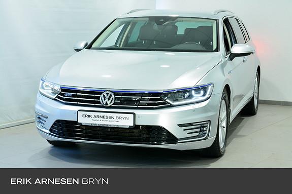 Volkswagen Passat 1,4 TSI 218hk DSG Skinn, Krok, Kamera + +  2018, 50400 km, kr 289900,-