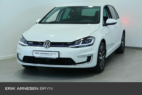Volkswagen Golf e-Golf Facelift 136hk Skinn, Active info, LED, 17