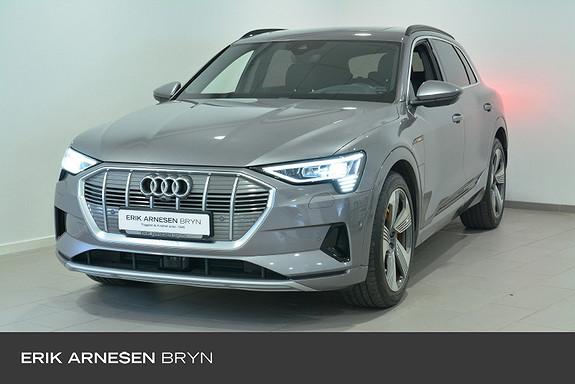 Audi e-tron 55 LIMITED TYFONGRÅ  2019, 44700 km, kr 699900,-