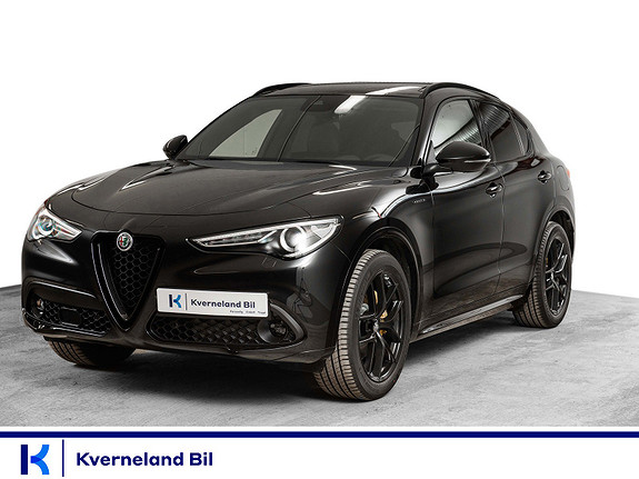 Alfa Romeo Stelvio 2,2D 210hk Veloce AWD aut hengerfeste,  2021, 1000 km, kr 829000,-