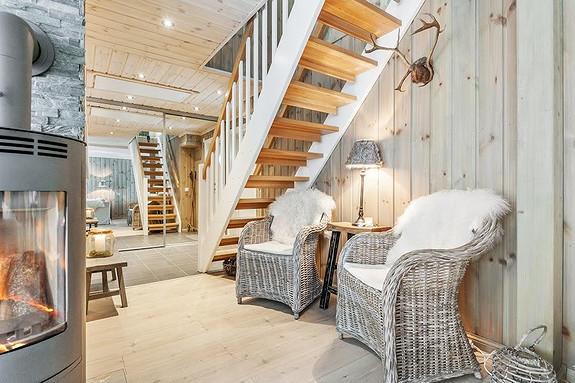 Trysil – Ljørdalen – Prosjektert Buen Lirype hytte til salgs – inkludert estimert tomt og grunnarbeider