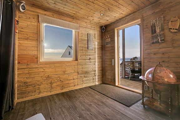Relax-room utenfor badstuen