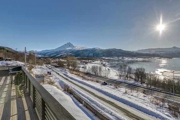 2etg - Gangsti som fører deg fra Skjomnes, forbi eiendommen, via Narvik sentrum og helt til Øyjord!