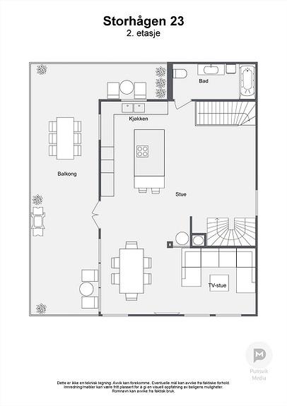 Storhågen 23 - 2. etasje - 2D