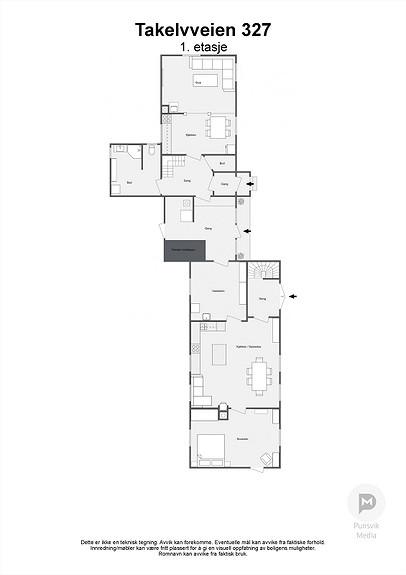Takelvveien 327 - 1. etasje - 2D
