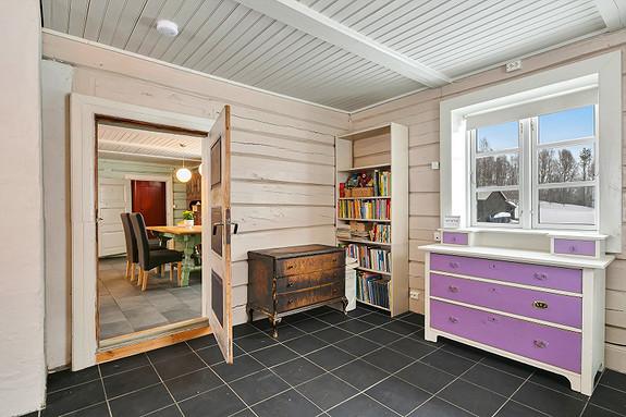 Hus 1 - Soverom/stue ved kjøkken
