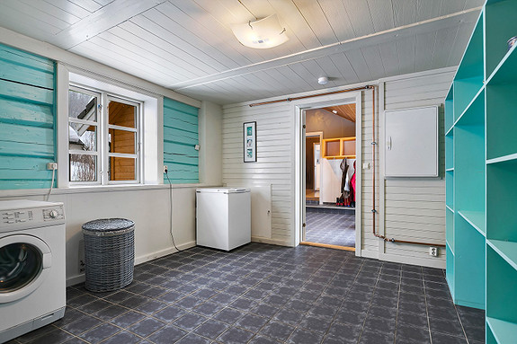 Hus 1 - Vaskerom ved hall