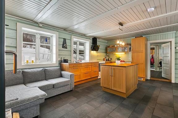 Hus 1 - Kjøkken
