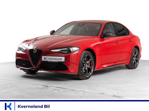 Alfa Romeo Giulia 2,0T 280hk Veloce Ti AWD aut  2021, 10 km, kr 949000,-
