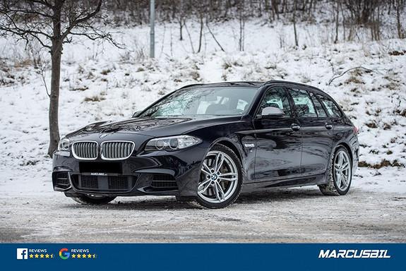 BMW 5-serie M550D xDrive/H&K/HEAD-UP/ACC/PANO/M-SPORT  2016, 92000 km, kr 599900,-