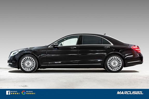 Mercedes-Benz S-Klasse 560e Lang utgave, utstyrsbombe, Se km! S/V-hjul, takstat  2019, 14566 km, kr 979000,-