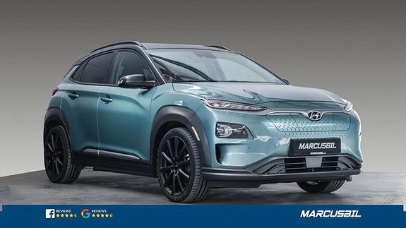 Hyundai Kona 64KW/PREMIUM/SOLTAK/S+ V/NORSK  2019, 39500 km, kr 299000,-
