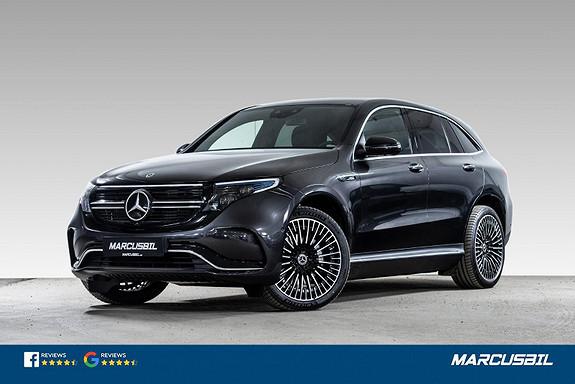 """Mercedes-Benz EQC 400/4MATIC/AMG/SOLTAK/H.HESTE/BURMESTER/21""""+20""""/NORSK  2021, 350 km, kr 729000,-"""