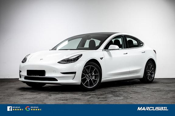 "Tesla Model 3 LR AWD AP/HIFI/VINTER/HENGERFESTE/18""+18""  2020, 23500 km, kr 459900,-"