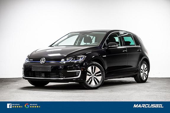 Volkswagen Golf E-Golf 100KW ACC/V.PUMPE/ACTIVE INFO/KEYLESS  2019, 50000 km, kr 199900,-