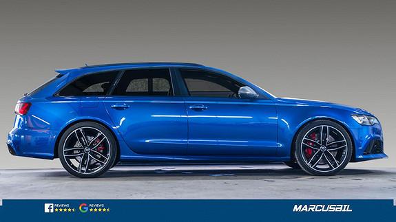 Audi RS6 PERFORMACE/605HK/VALCONA/CARBON/BOSE/HUD/PANO  2017, 64500 km, kr 1079000,-