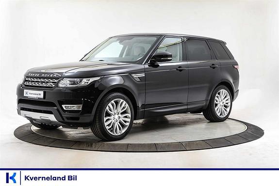 Land Rover Range Rover Sport 3.0  TD V6 HSE Skinn Navi Webasto El. Utfellbar Krok  2014, 98000 km, kr 559000,-