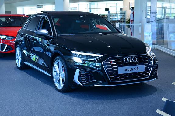 Audi S3 SPORTBACK TFSI 310 HK S-TRO  2021, 2000 km, kr 799000,-