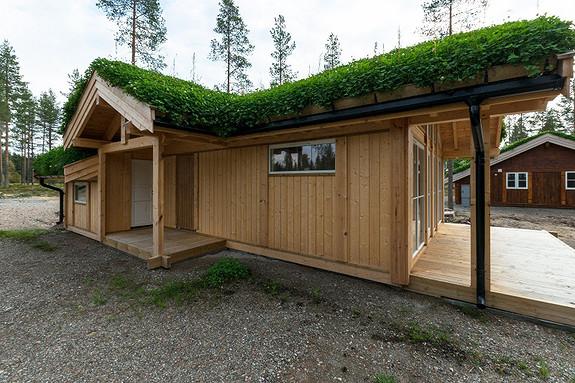 Ny prosjektert hytte Buen Småroi L – Inkl tomt, graving, betongarbeider og nøkkelferdig hytte