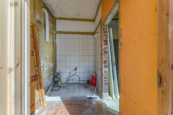 Tilbygget er som et renoveringsobjekt å regne