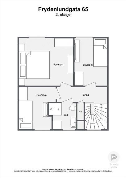 Frydenlundgata 65 - 2. etasje - 2D