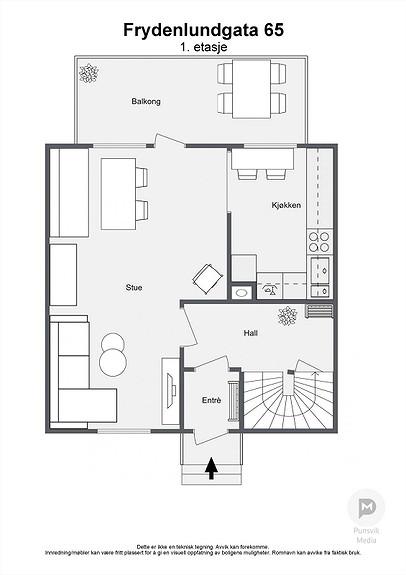 Frydenlundgata 65 - 1. etasje - 2D
