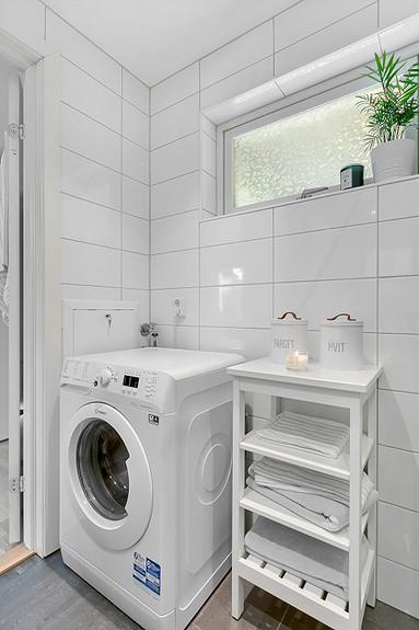 Opplegg for vaskemaskin