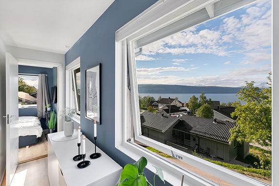 Sjekk utsikten fra stuen!