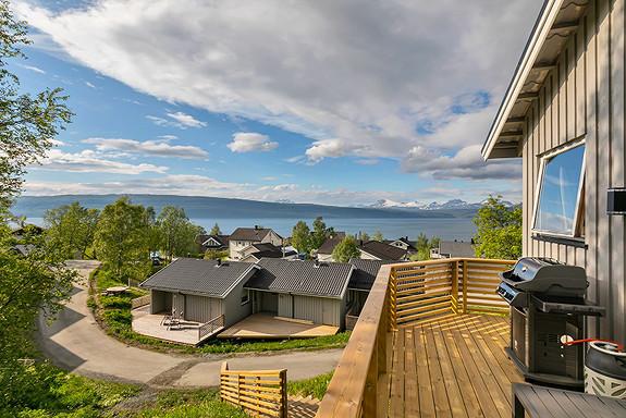 Utsikt over Ofotfjorden og Vegglandet