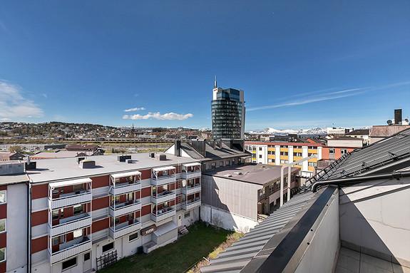 Sjekk utsikten fra leiligheten!